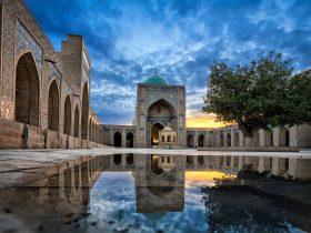 Kalyan Mosque in Bukhara, Uzbekistan